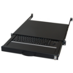aixcase AIX-19K1UKDETB-B USB+PS/2 QWERTZ German Black keyboard