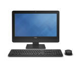 "DELL OptiPlex 3030 3GHz i5-4590S 19.5"" 1600 x 900pixels Touchscreen Black All-in-One PC"