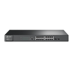 TP-LINK T2600G-18TS Managed L2 Gigabit Ethernet (10/100/1000) Black network switch