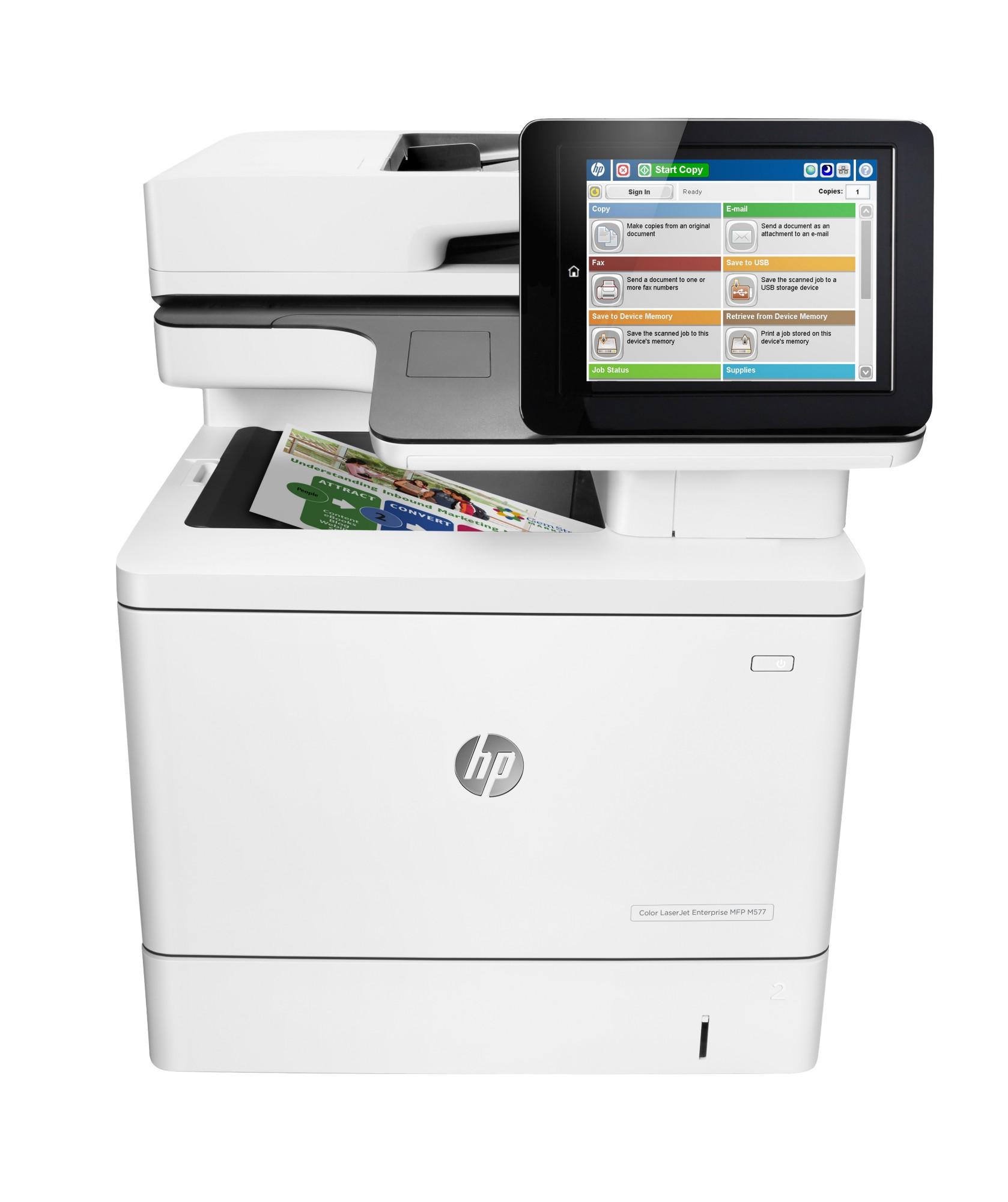 HP LaserJet Color Enterprise MFP M577dn