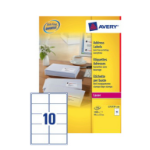 Avery L7173-100 addressing label White Self-adhesive label