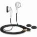 Sennheiser MX 365 Auriculares Dentro de oído Blanco