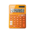 Canon LS-123k Desktop Basic Orange calculator