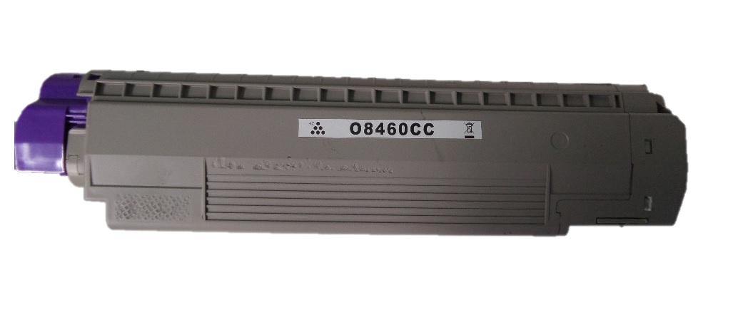 Remanufactured OKI 44059231 Cyan Toner Cartridge