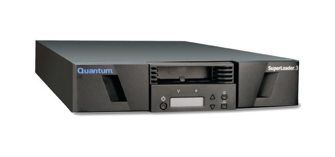 Quantum SuperLoader 3 tape-autoloader/library 20000 GB 2U Zwart