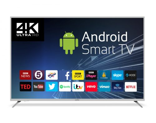 "Cello C75ANSMT-4K LED TV 190.5 cm (75"") 4K Ultra HD Smart TV Wi-Fi White"