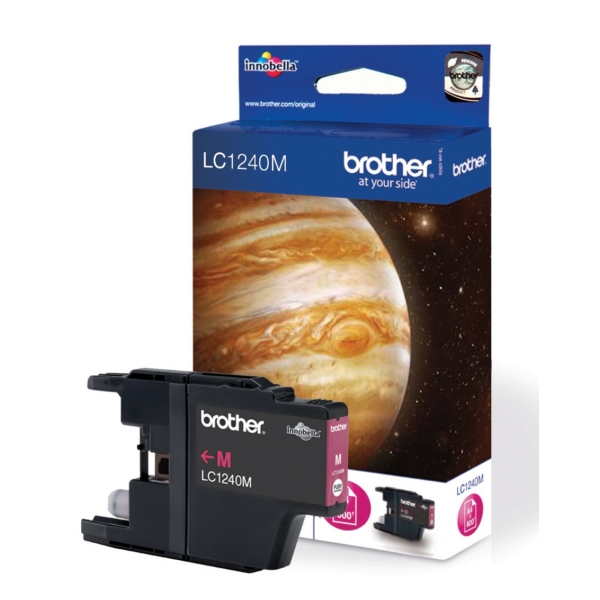Brother LC-1240M Ink cartridge magenta, 600 pages