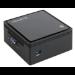 Gigabyte GB-BXBT-2807-1/4 1.58GHz Celeron N2807 UCFF Black PC/workstation barebone