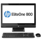 "HP EliteOne 800 G1 3GHz i5-4590S 23"" Black All-in-One PC"