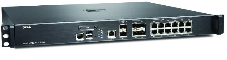 DELL SonicWALL 01-SSC-4270 1U 3400Mbit/s hardware firewall