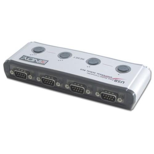 Lindy 4-Port USB Serial Converter