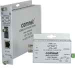ComNet 10/100 Mbps Ethernet 1550/1310nm network media converter 100 Mbit/s Multi-mode Silver