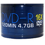 AONE DVD-R 16X 4.7GB 50PK LOGO