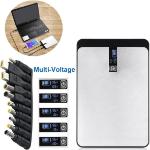 MicroBattery MBX-PB001 power bank Black,White 34200 mAh