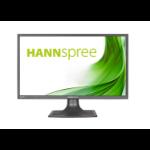 "Hannspree HS 247 HPV 23.6"" Full HD LCD Flat Black computer monitor"