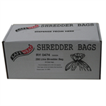 FSMISC SAFEWRAP SHREDDER BAGS 250 LITRE PK PK50