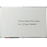 Metroplan Write-on vitreous enamel steel 120x120 cm whiteboard