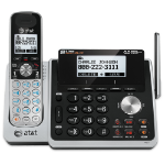 AT&T TL88102 DECT Caller ID Black,Silver telephone