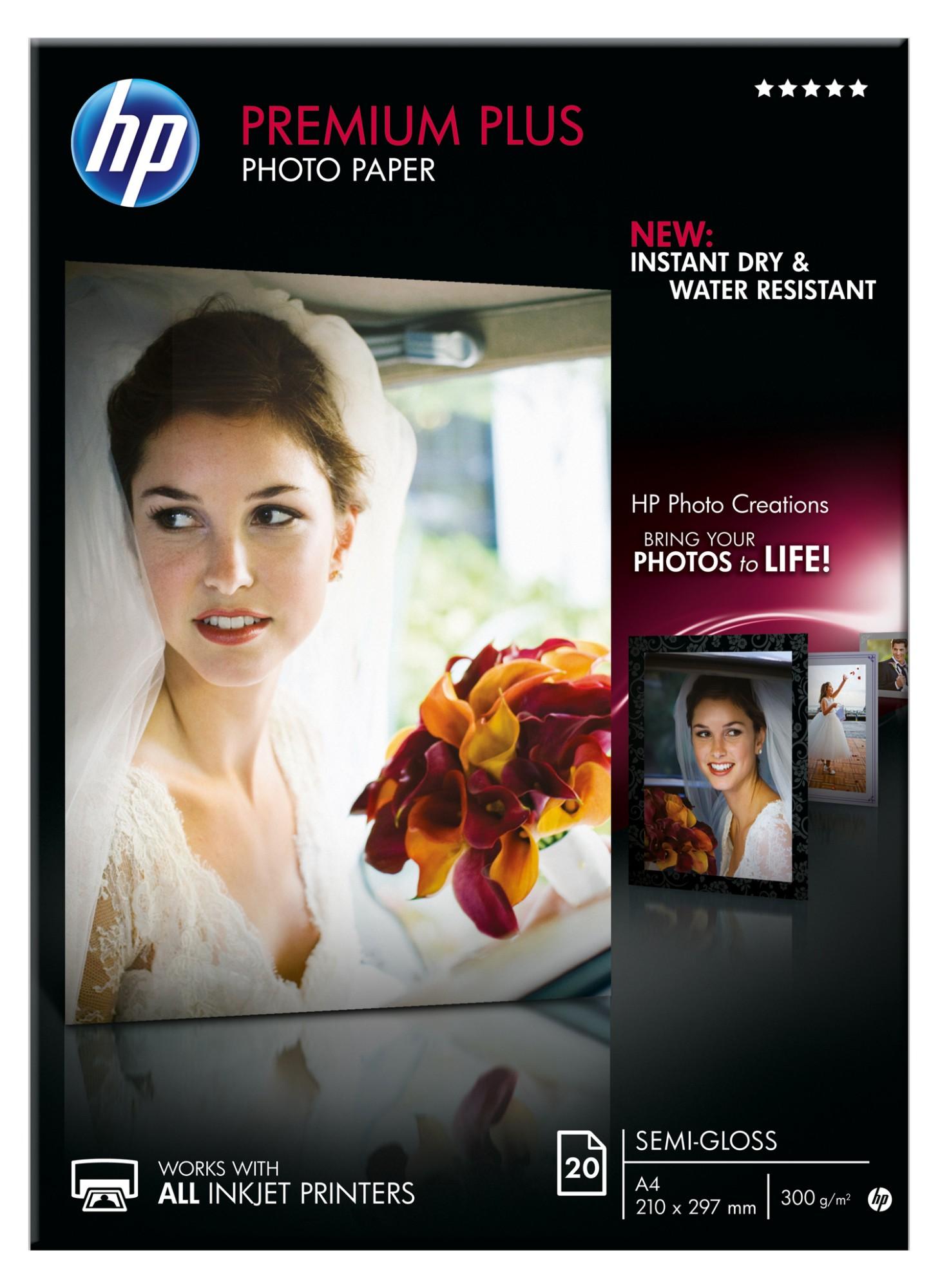 HP CR673A papel fotográfico Semi-brillo A3