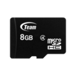 Team Group TUSDH8GCL403 memory card 8 GB MicroSDHC Class 4