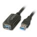 Lindy 5.0m USB 3.0 M/F USB cable 5 m 3.2 Gen 1 (3.1 Gen 1) USB A Black