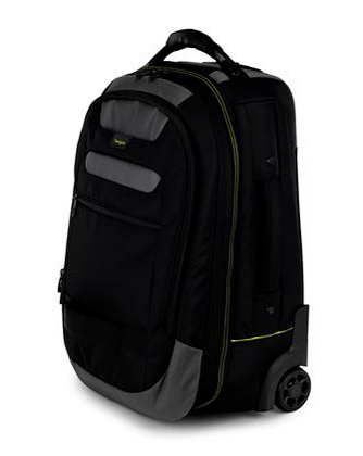 "Targus CityGear 15.6"" notebook case 39.6 cm (15.6"") Trolley case Black"