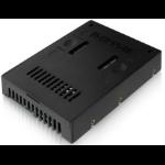 """Icy Dock MB882SP-1S-2B 2.5"""" Black storage enclosure"""