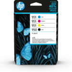 HP 950/951 Original Black, Cyan, Magenta, Yellow 4 pc(s) 6ZC65AE