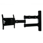B-Tech Double Arm Flat Screen Wall Mount with Tilt and Swivel