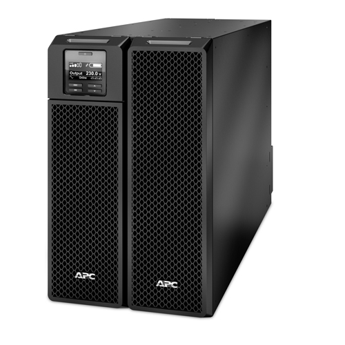 APC Smart-UPS On-Line Double-conversion (Online) 8000VA 10AC outlet(s) Rackmount/Tower Black uninterruptible power supply (UPS)