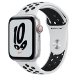 Apple Watch SE Nike 44 mm OLED 4G Silver GPS (satellite)