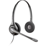 Plantronics SupraPlus Binaural Head-band Black headset