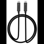 "Siig CB-TB0011-S1 Thunderbolt cable 39.4"" (1 m) 40 Gbit/s Black"