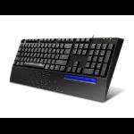 Rapoo NK2000 keyboard USB QWERTY Black