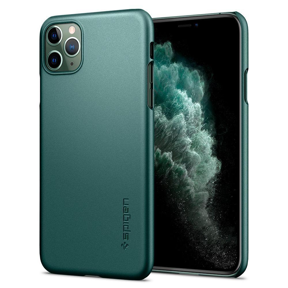 "Spigen ACS00416 mobiele telefoon behuizingen 14,7 cm (5.8"") Hoes Groen"