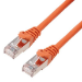 MCL 1m Cat6a F/UTP cable de red F/UTP (FTP) Naranja