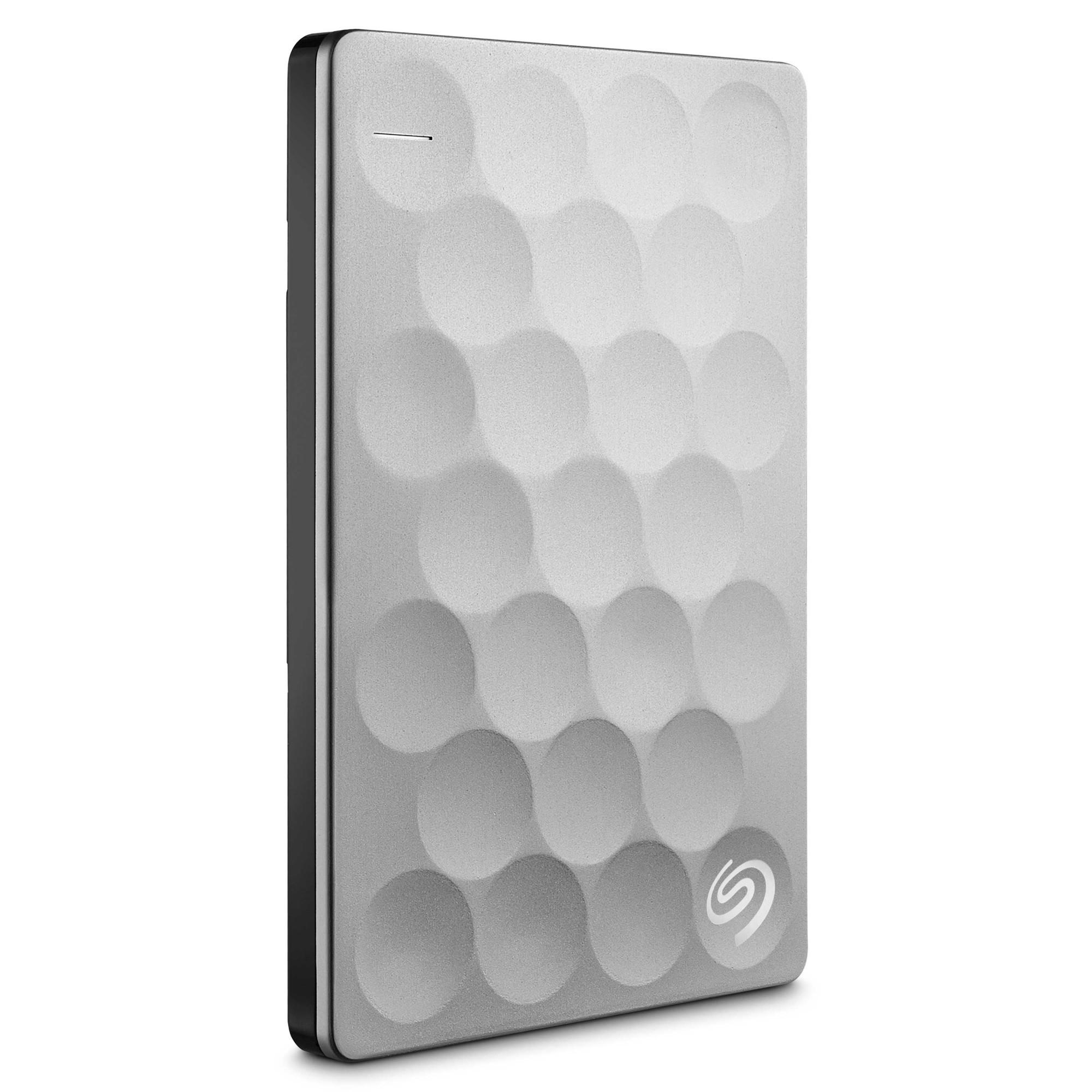 Seagate Backup Plus Ultra Slim external hard drive 2000 GB Platinum