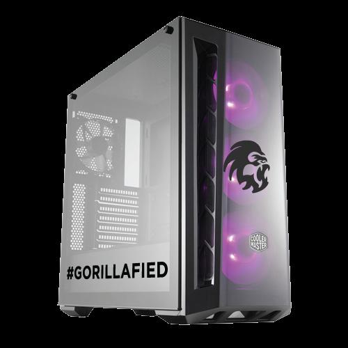 Gorilla Gaming LEVEL: 1.3 - Intel i5 9400F 2.9GHz, 8GB RAM, 480GB SSD, 6GB GTX 1660 Ti