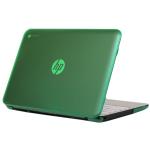 "iPearl MCOVERHPC11G2GRN notebook case 11.6"" Hardshell case Green,Translucent"