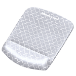 Fellowes 9549701 mouse pad Grey,White