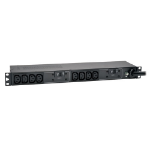 Tripp Lite 7.4kW Single-Phase 230V Basic PDU, 10 C13 Outlets, IEC 309 32A Blue Input, 3.6 m Cord, 1U Rack-Mount