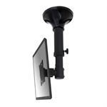 "Newstar FPMA-C025BLACK - 37-47cm height adjustable - up to 30"" flat panel ceiling mount"