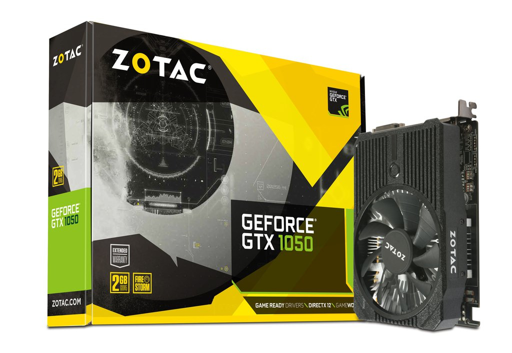 Zotac GeForce GTX 1050 Mini GeForce GTX 1050 2GB GDDR5