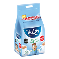 Tetley ONE CUP DECAF TEABAGS PK440