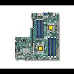 Supermicro X9DBU-3F Intel C606 Socket B2 (LGA 1356) server/workstation motherboard