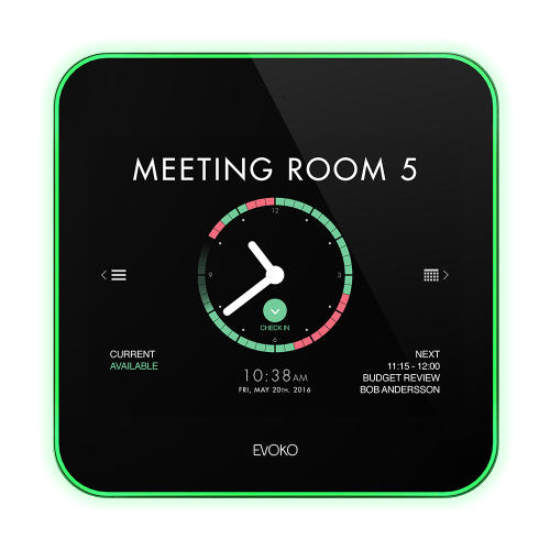 "Evoko Liso 8"" Tabletop touch screen monitor"