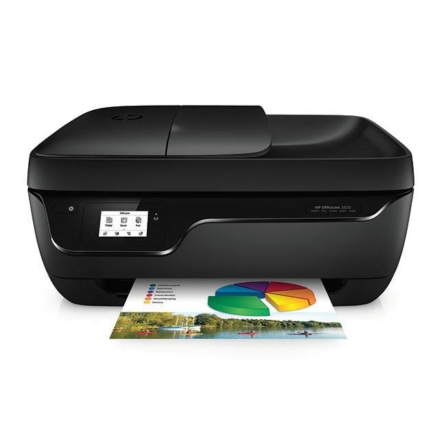 HP OfficeJet 3830 Inkjet A4 Wi-Fi Black