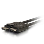"C2G 54324 video cable adapter 181.1"" (4.6 m) DisplayPort HDMI Black"