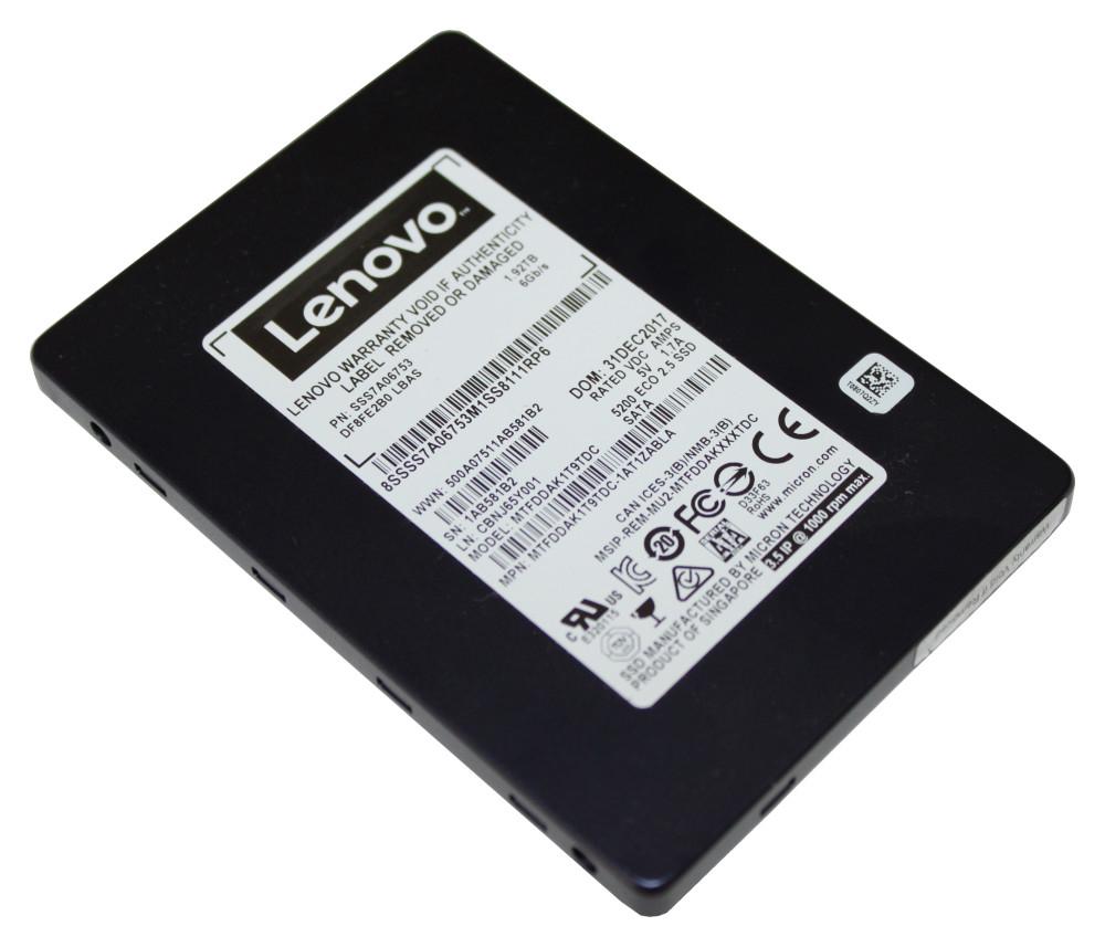"Lenovo 5200 2.5"" 1920 GB Serial ATA III TLC"