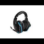 Logitech G935 Binaural Head-band Black,Blue